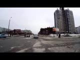 Самоубийца на пешеходном переходе - Снежинск 3 февраля 2015