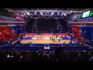 Баскетбол / Евролига 2015-16 / Группа D / 3-й тур / ЦСКА (Россия) - Бамберг (Германия) / Весь матч