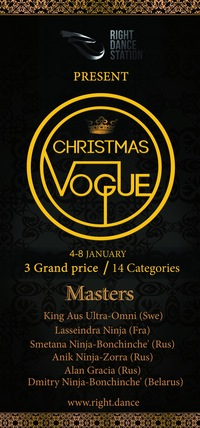 Christmas Vogue ball and Camp*4-8 January