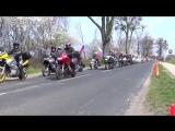 Бранево,Польша.Визит Российских мотоциклистов.