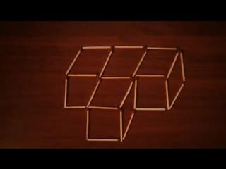 Головоломка со спичками (8) с ответом