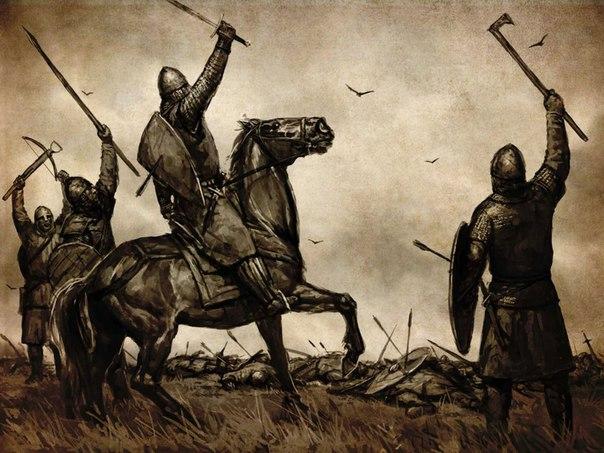 mount and blade, викинги, брутальность