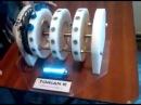 Самовращающийся магнитный двигатель TORIAN 3