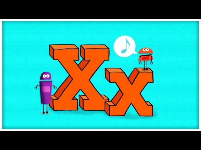 ABC Song: The Letter X, Extraordinary X by StoryBots