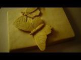 Видео-урок Бабочка - Резьба по дереву Татьянка