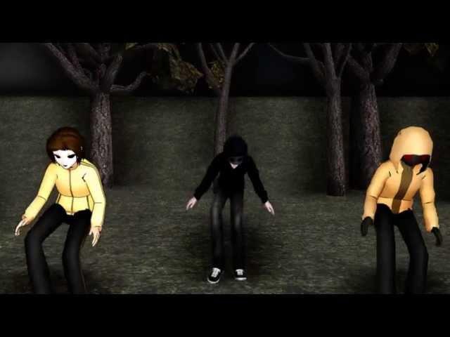 [MMD] Moves Like Jagger - Masky, Eyeless Jack and Hoody