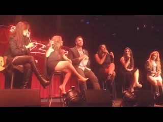 Fifth Harmony - Q&A pt 1 - Sun Gig London 02-11-2015