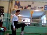 SLs Даяна Ерёмина. Как научиться делать колесо на локтях:)