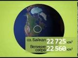 Небольшой увлекательный ролик, рассказывающий о Байкале в цифрах.