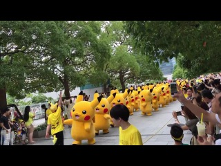 Марш Пикачу в Японии, Йокогама (2015)