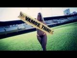 Nani Gazinski quase nua em ensaio sensual - Musa Brasileirão 2013