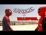 Spider-Man vs Deadpool - Cardboard