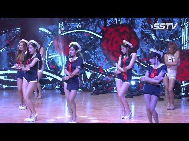 [SSTV 영상] 티아라(T-ARA), '섹시한 마이크봉 댄스'가 돋보이는 '포유(For You)'