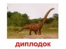 Презентация для детей по Доману. Динозавры