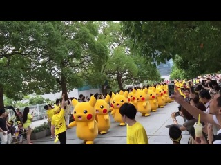 Парад покемонов Пикачу