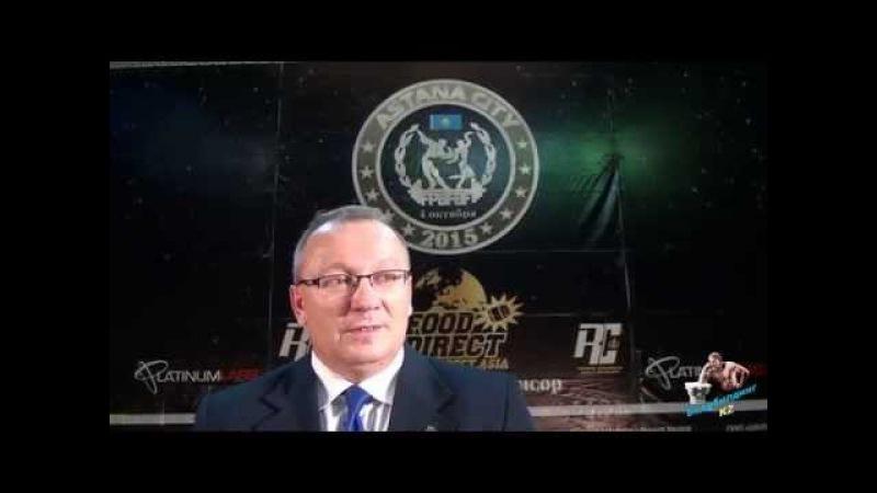 Вячеслав Бузуев о прошедшем 28 -ом Чемпионате Казахстана по бодибилдингу