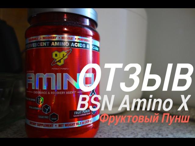 Отзыв о BSN Amino X (Фруктовый Пунш)