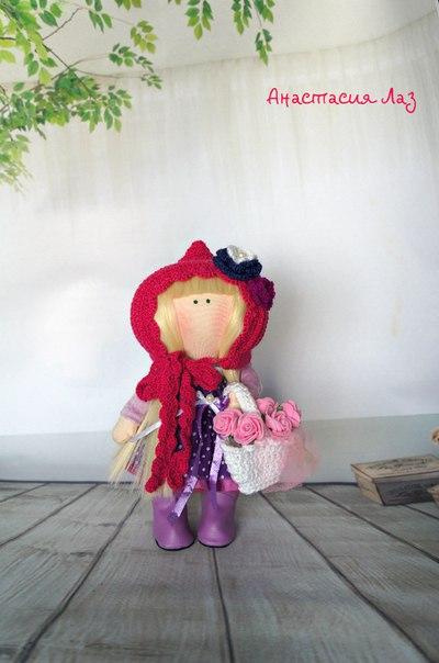 Красная шапочка 22 см (4 фото) - картинка