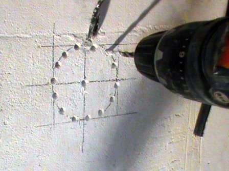 Как сделать дырку в стене фото 472
