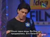 57th. Filmfare Awards - сцены с Шахрукх Кханом и Ранбиром Капуром с русскими субтитрами (часть 3)