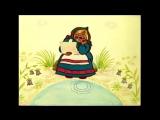 Мультфильмы- Два весёлых гуся - Two merry geese with subtitles english, greek, italian, russian