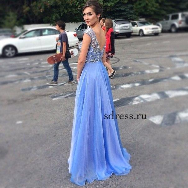 Длинные платье вид сзади