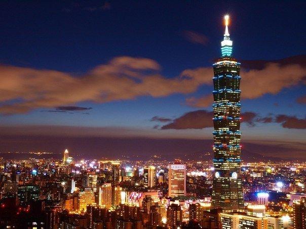 Небоскреб Тайбей 101, Тайвань