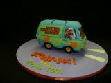 Машина Скубиду   The Making of A Scooby-Doo Cake -