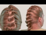 Мастер Класс по Плетению Косичек из Жгутов Видео 2014 Master Class on Braiding Bundles Tutorial