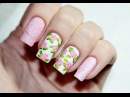 Vintage Rose Floral Nail Art | Весенний Маникюр с Розами