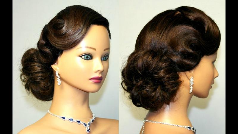 Причёски на длинные волосы на выпускной вечер. Фото №5