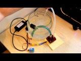 Работа помпы из HDD от модельного регулятора.MOV