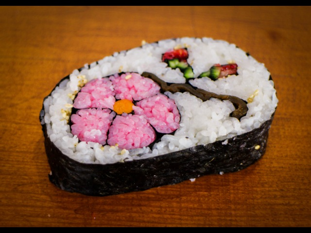 Sushi Flower Art Super Fast How To