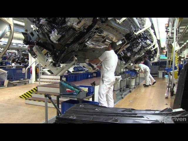 Сборка нового Volkswagen Golf 7 на видео с завода в Вольфсбурге