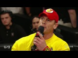Team Cena vs. Team Authority Survivor Series contract signing [RAW 17/11/2014]