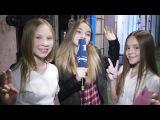Интервью после поединка Варвара Кистяева и Полина Руденко - Голос. Дети - Видеоархив - Первый канал