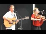 Martin Carthy and Eliza Carthy play at Beverley Folk Festival 2014