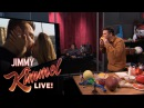 Jimmy Kimmel Makes Kissing Sound Effects for The Bachelor