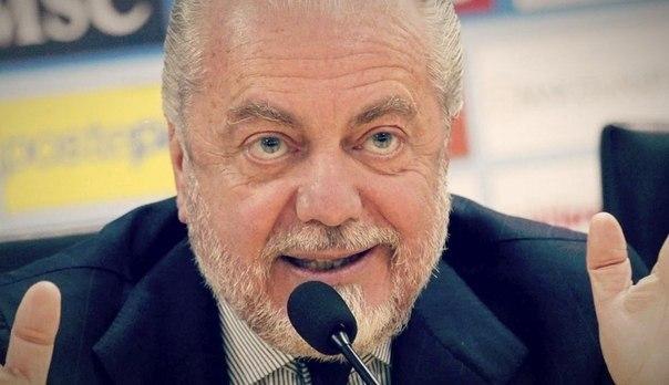 Де Лаурентис: я потратил 98 млн евро на трансферы