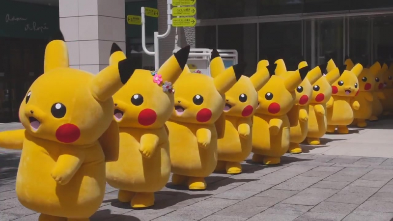 ピカチュウ大量発生チュウ! _ Pikachu ! Dance and Parade in Yokohama 2014