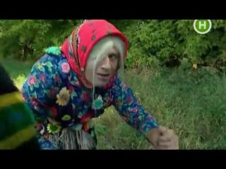 Ведущие Файна TV Зиновий Пыпка и Иннокентий Бест Интервью с бабой Мотрей