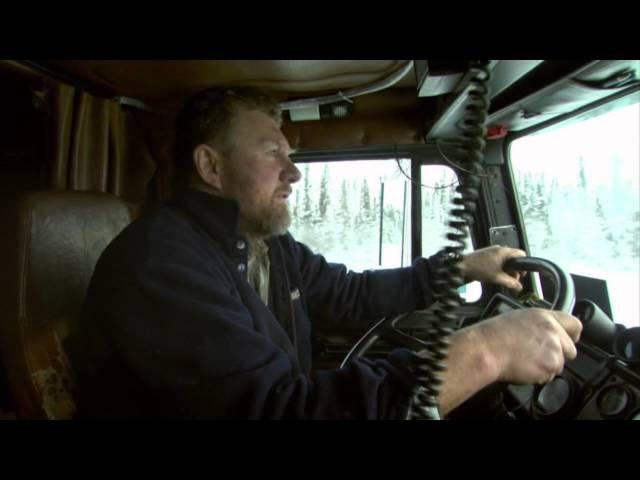 Ледовый Путь Дальнобойщиков сезон 1 серия 1