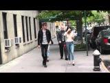 May 10th, 2015 - Dakota Johnson leaves apartment with boyfriend Matt Hitt in New York