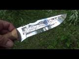 Нож Кизляр. Тест консервной банки.