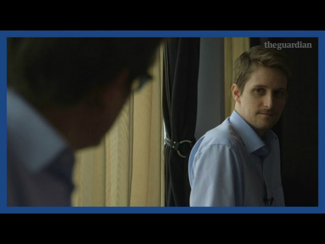 Edward Snowden: If I end up in Guantánamo I can live with that   Guardian Interviews