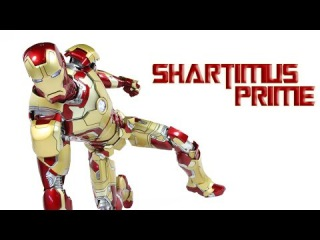 Hot Toys Mark 42 Iron Man 3 Die Cast 1:6 Scale Movie Masterpiece MMS197-D02 Action Figure Review