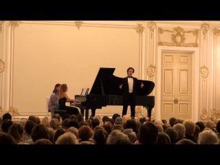Моцарт - Ария Дон Жуанa-08.11.15,Maliy sal filarmonii