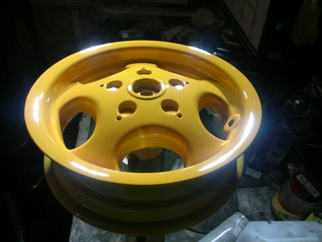 Реставрация и покраска литых дисков