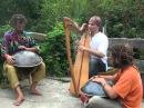 Alizbar Amin Varkonyi Norbi Pavel 2008 Two Hang and Celtic harp improvisation