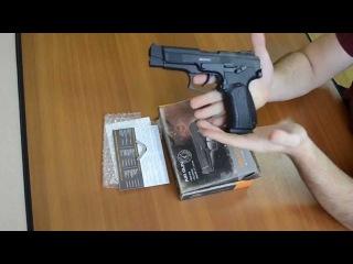 Обзор пневматического пистолета Gletcher Grach NBB (Грач, Ярыгина)